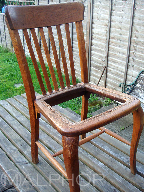 Oak Chair Before