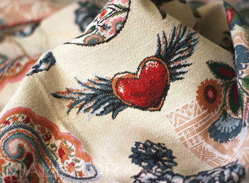 Heart With Wings Detail