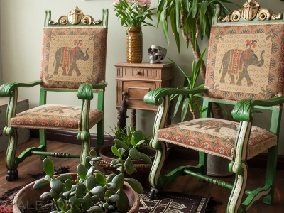 Boho Over-sized Chairs